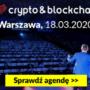Konferencja I ♥️ Crypto & Blockchain  Warszawa – 18 marca 2020