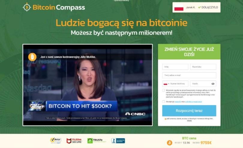 bitcoin compass opinie
