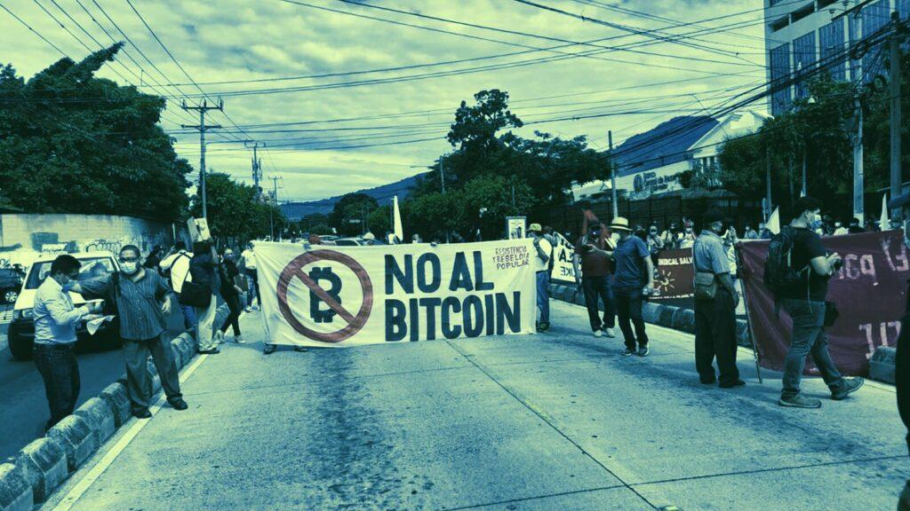 Masowe protesty w Salwadorze