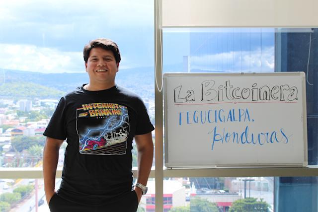 Pierwszy bitomat w Honduras