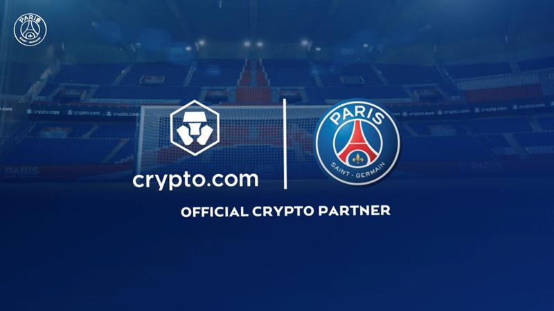 Crypto.com współpracuje z PSG